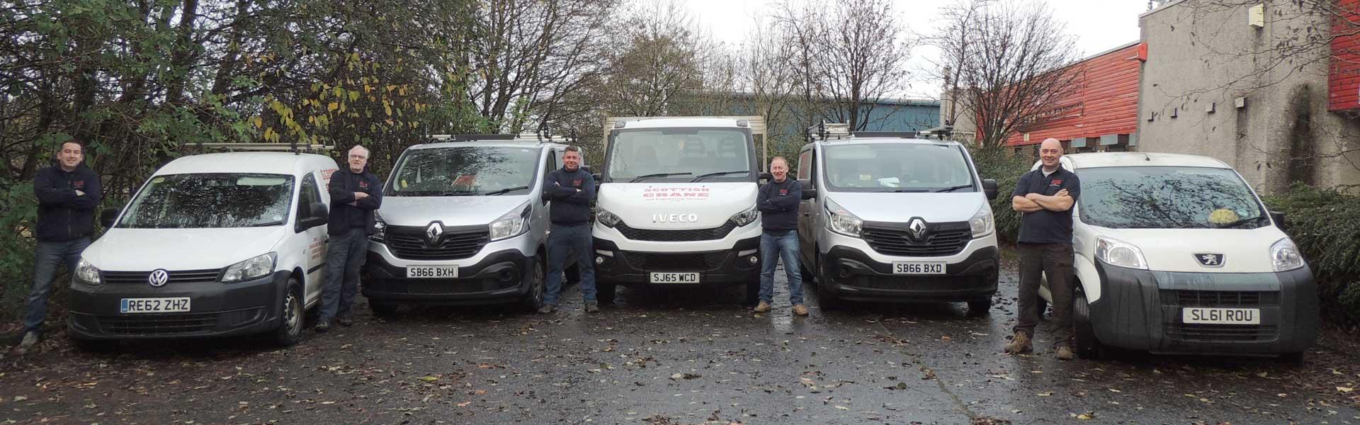 Lifting Equipment Scotland | Crane Design Glasgow